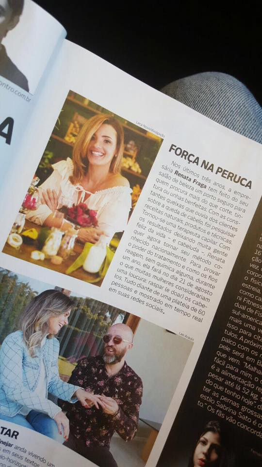 Clipping: Renata Fraga na Revista Encontro