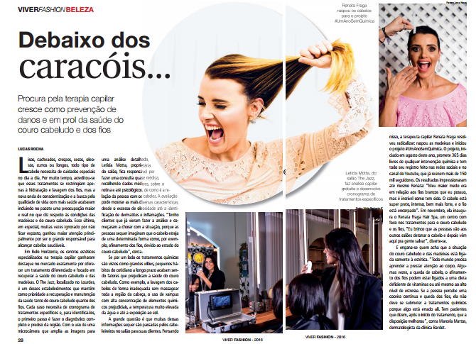 Clipping: Renata Fraga na Revista Viver Fashion