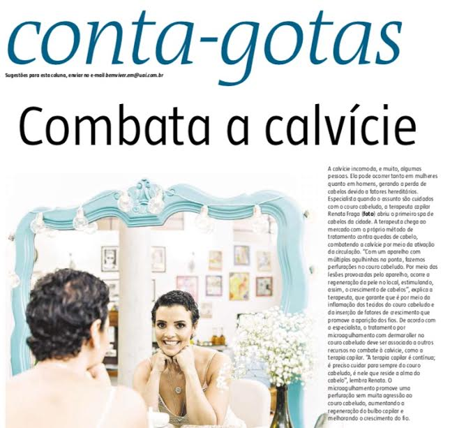 #Clipping: Renata Fraga no Estado de Minas